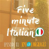 #81: How to talk about lunch and dinner in Italian