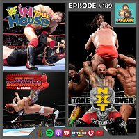 189: NXT North American Ladder Match, Vader vs. Shamrock & Takahashi vs. Dragon Lee Watchalong!