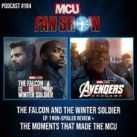 #194 The Falcon and The Winter Soldier review + The moments that made the MCU