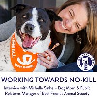 Working Towards No-Kill - Interview with Michelle Sathe – Dog Mom & Public Relations Manager of Best Friends Animal Society