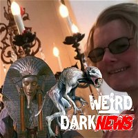 WOMAN TO MARRY CHANDELIER, ALIEN DNA IN PHARAOH, CHUPACABRA ARRIVES IN UFO, and MORE! #WeirdDarkNews