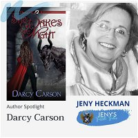 Darcy Carson on Author Spotlight on Jeny's Tattle Tales