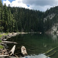 Episode 47: Trinity Alps Wilderness- Passing Thunderstorm at Upper South Fork Lake