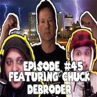 "Episode #45- ""El Paso's favorite weatherman"" the Chuck Debroder interview."