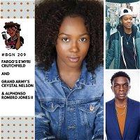 209: Fargo's E'myri Crutchfield and Grand Army's Crystal Nelson & Alphonso Romero Jones II