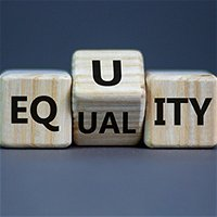 What can companies and individuals do to encourage race and gender equity?