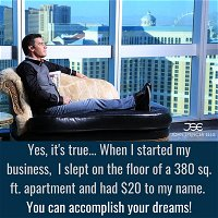 Sleeping on the Floor to Luxury Penthouse (the full story)