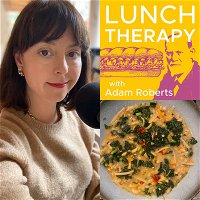 Ep. 37 -- Karina Longworth's Brothy Beans and Greens with Lemon Pepper Linguine